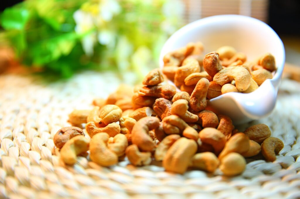 cashew nut, nut, protein